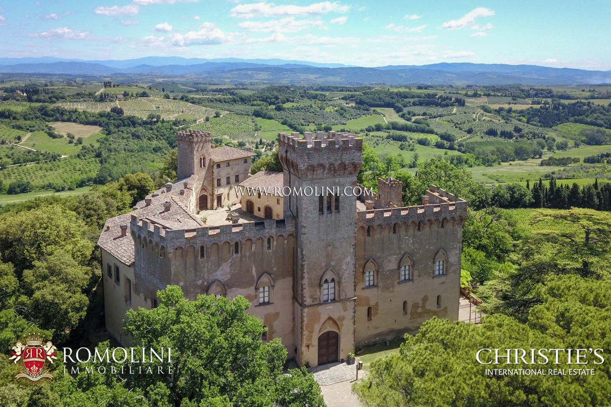 CASTLE FOR SALE IN CHIANTI